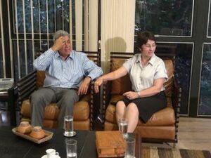 Em visita a Puccinelli, senadora destacou problemas na Aldeia Água Bonita