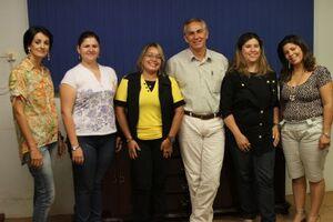 Recentemente, o Prefeito reuniu-se com a empresa responsável que irá ministrar as aulas dos cursos em Brasilândia