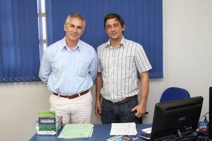Recentemente, o Prefeito Jorge Diogo fez uma visita no Procon de Brasilândia