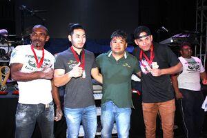 Legenda da foto: Valtecir (o primeiro da esquerda para direita) participará da competição